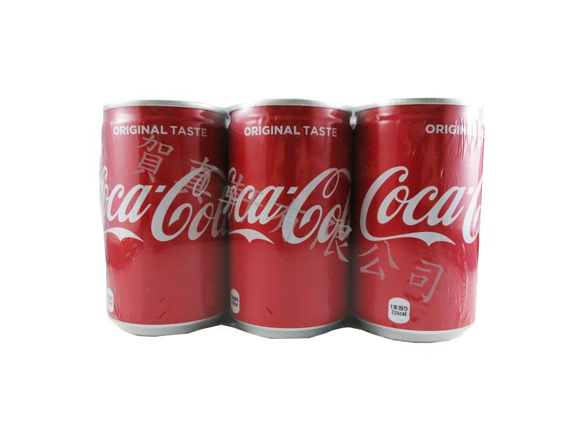可口可樂(160ml)6瓶=1組 019293