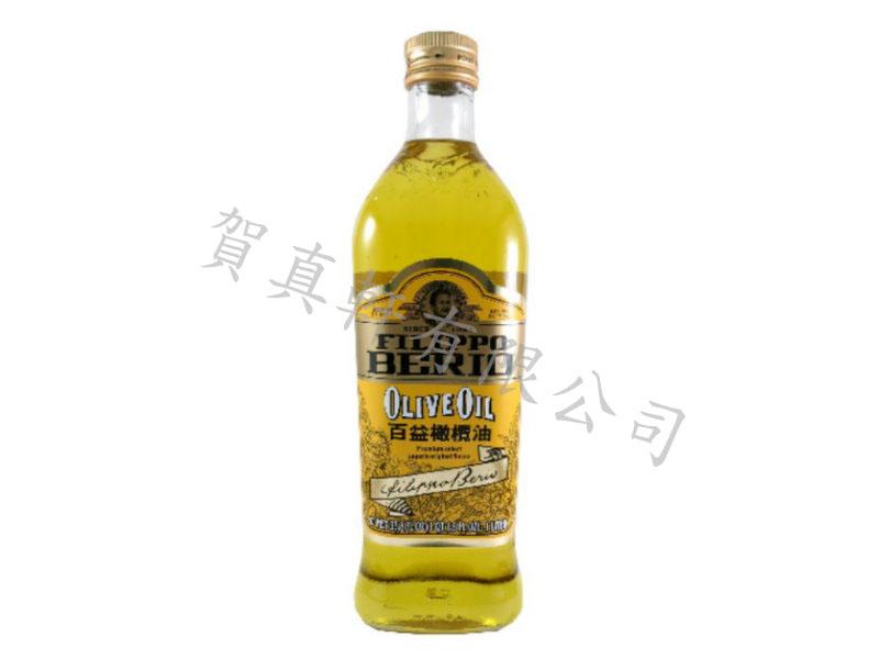百益橄欖油1L 001701