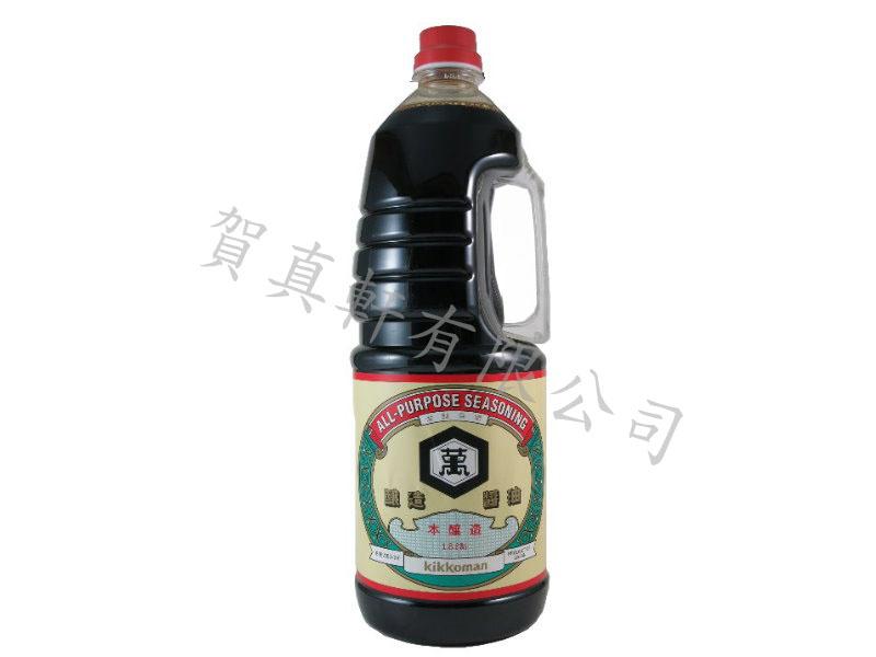龜甲萬北海道醬油(濃口)1.8L 110207