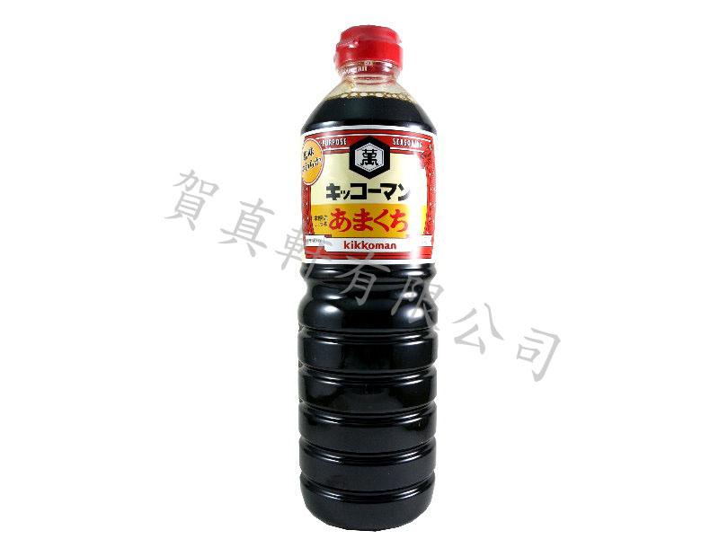 龜甲萬北海道1L(甘口)醬油 110061
