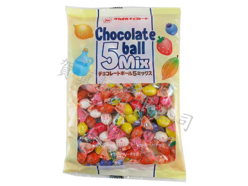 高岡5種巧克力155g 909439