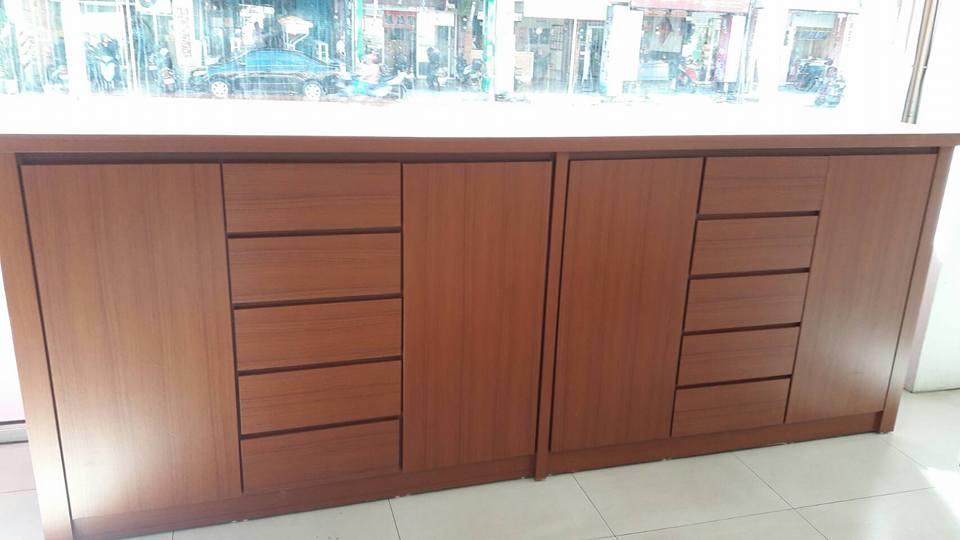木櫃訂作-木作魚缸櫃子-桃園