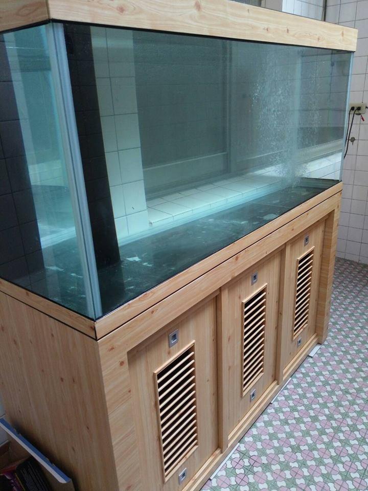 魚缸木櫃-士林