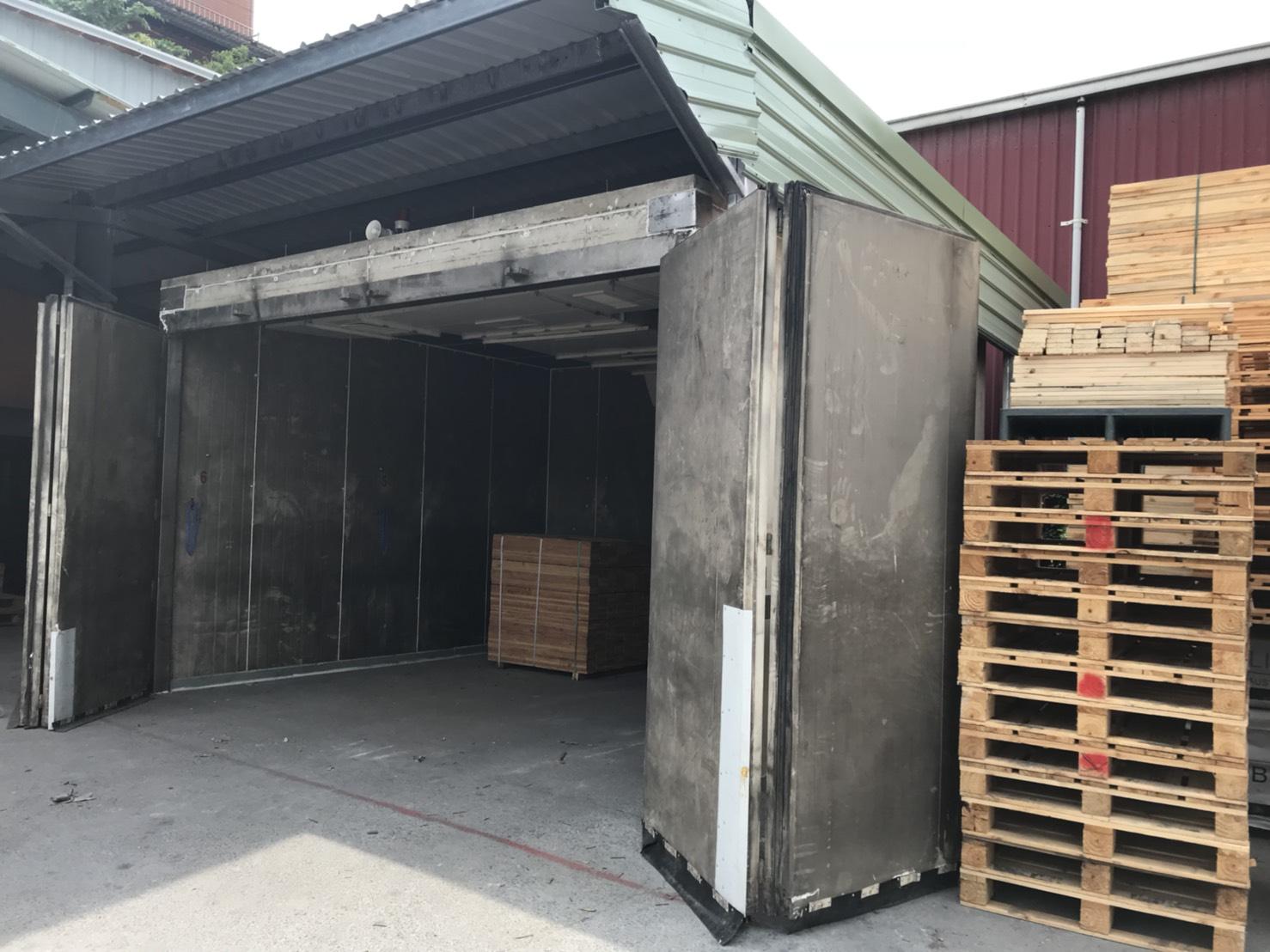 木箱 棧板 煙燻 熱處理加工
