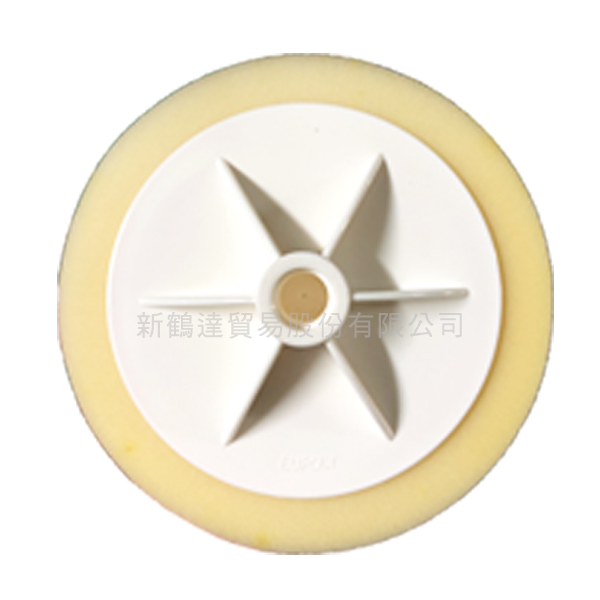 SHD 附盤白色海綿輪