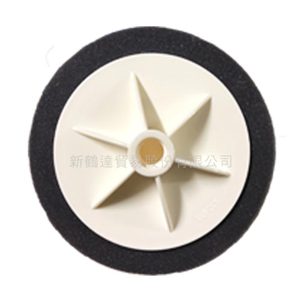 SHD 附盤黑色海綿輪