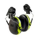 3M PELTOR X4P3E 安全帽式耳罩