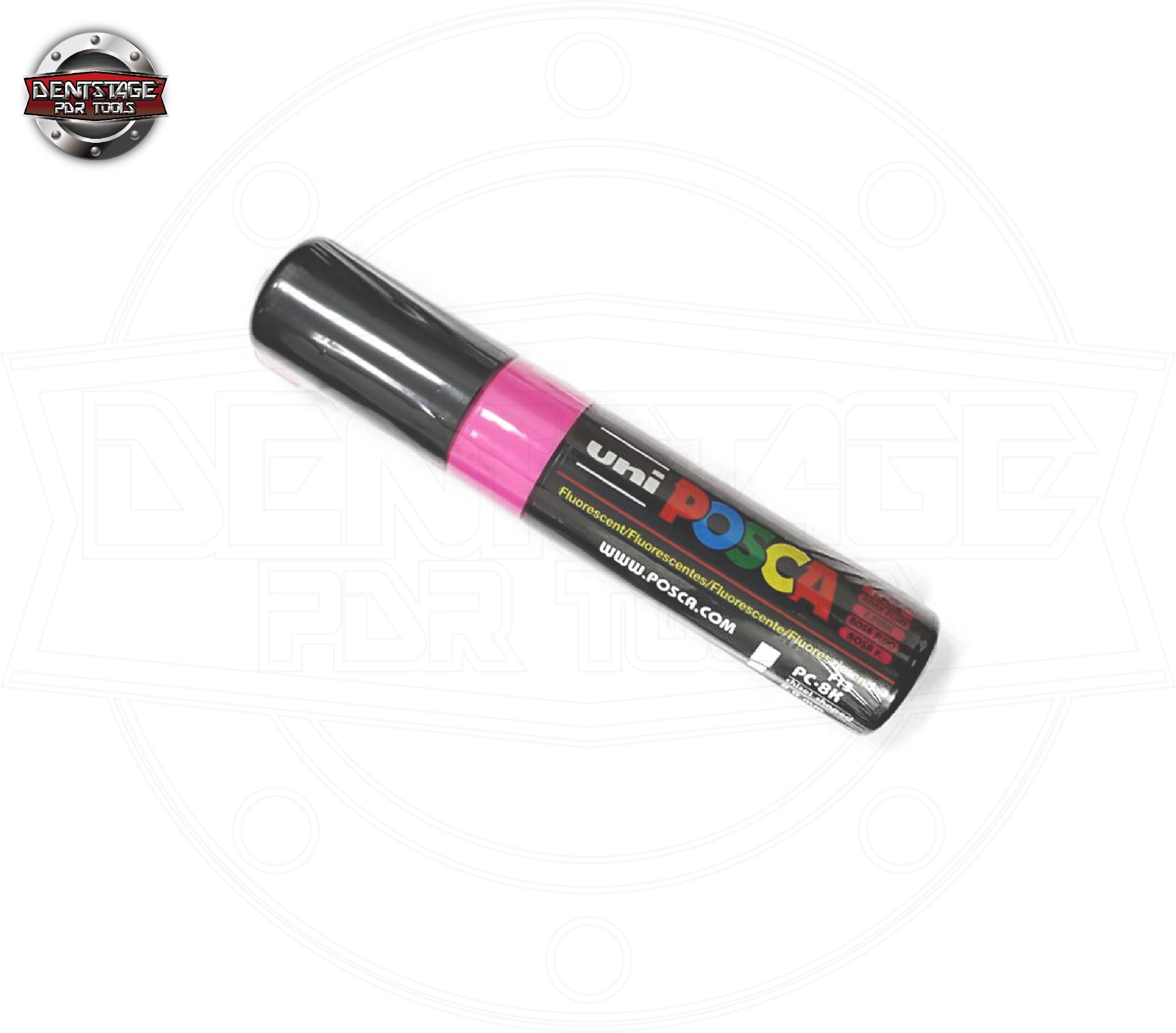 粉紅色 Posca 車用油性標記筆