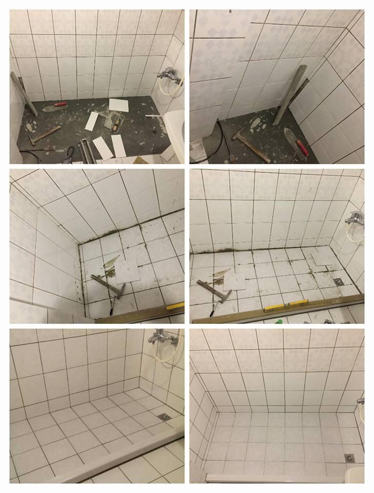 台北市內湖區住家浴室浴缸拆除工程
