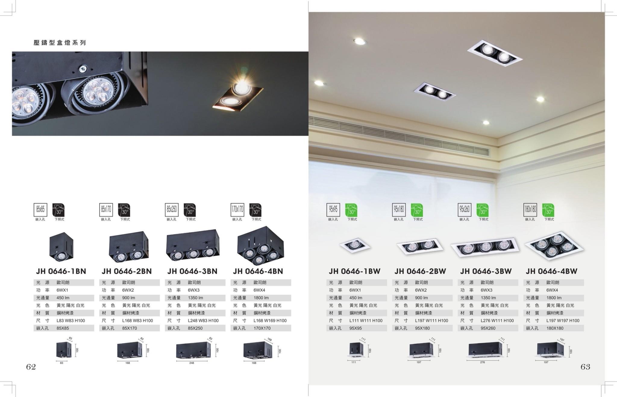 JBR LED MR16盒燈