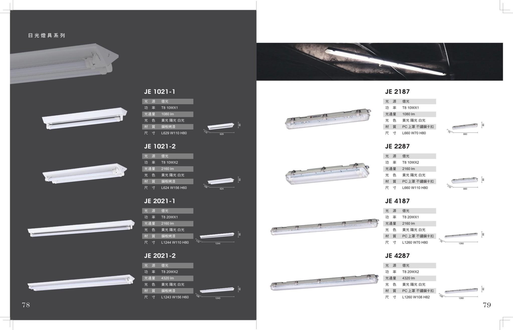 JBR LED 山型 / 防潮防塵