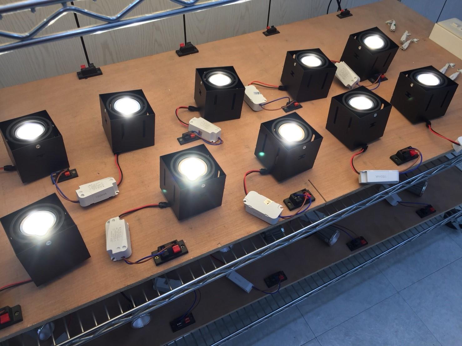6w壓鑄模組1x1無邊盒燈