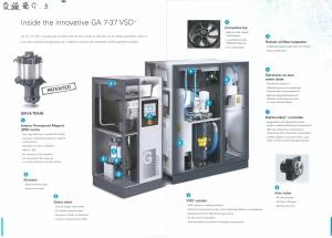 微油變頻空壓機GAVSD+(節能)10~50HP