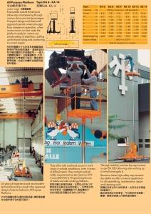 1-2.全功能作業平台  All Purpose Platform 型號KA6- KA 14