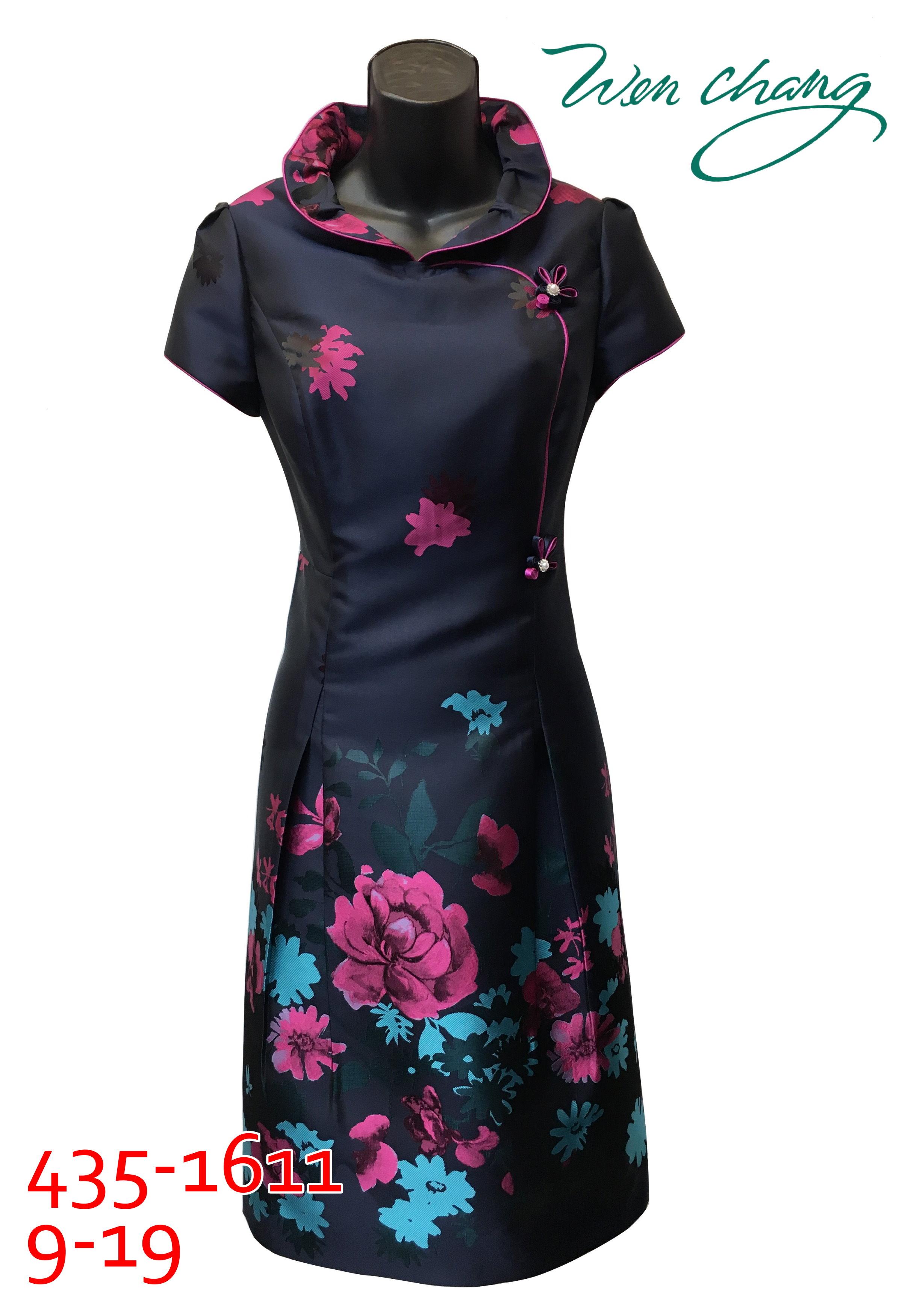 秋冬媽媽短禮服-435-1611