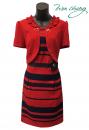 339-7650-春夏媽媽短禮服