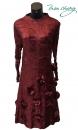 摺衣洋裝-308-8789