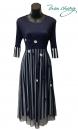 摺衣洋裝-389-8841