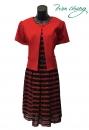 408-9132-春夏媽媽短禮服