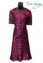 497-9621-春夏媽媽短禮服