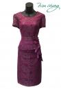 435-9616-春夏媽媽短禮服
