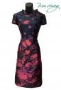 486-9960-春夏媽媽短禮服