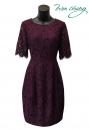 486-9963-春夏媽媽短禮服