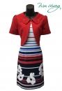 319-9006-春夏媽媽短禮服