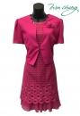 319-9008-春夏媽媽短禮服