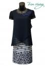 583-9721-春夏媽媽短禮服