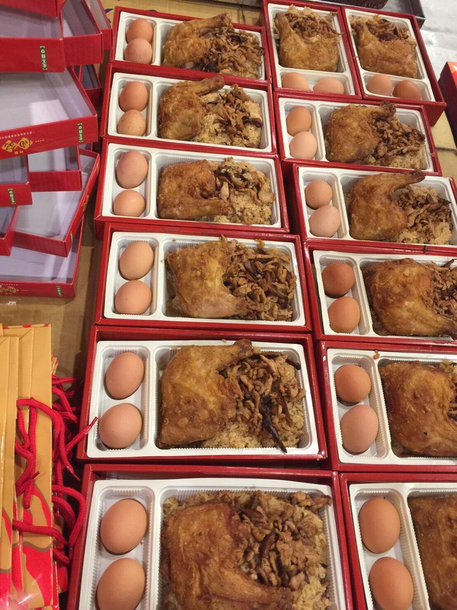 彌月油飯禮盒