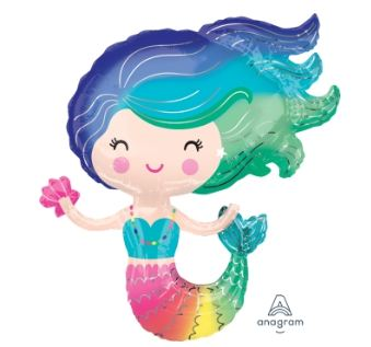 LRG: 彩色美人魚(73*76cm)(38472) 商品售價 $ 300