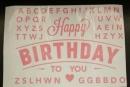 卡典貼紙-粉紅色生日字母套裝(KD-HB03) 商品售價 $ 100