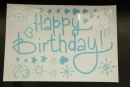 卡典貼紙-淺藍色生日配件套裝(KD-HB07) 商品售價 $ 100