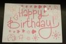卡典貼紙-粉紅色生日配件套裝(KD-HB08)商品售價 $ 100