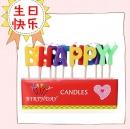 彩色生日字母蠟燭(C042) 商品售價 $ 80