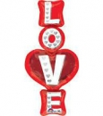 LRG: 直立式LOVE (51*99cm)(31830) 商品售價 $ 300