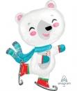 LRG: 遛冰的白熊(58*83CM)(36008) 商品售價 $ 300