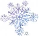 LRG: 冰晶雪花(80*75cm)(08052) 商品售價 $ 400