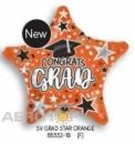 型號: 85332-18 18 吋 Grad Star 畢業橘星