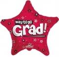 型號:85099-18 18 吋 Way To Go Grad Stars Red