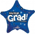 型號:85100-18 18 吋 Way To Go Grad Stars Blue