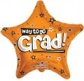 型號:85103-18 18 吋 Way To Go Grad Stars Orange