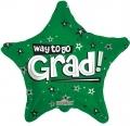 型號:85102-18 18 吋 Way To Go Grad Stars Green