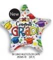 型號: 85345-18 18 吋 彩色畢業帽星星