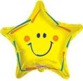 型號:19304-18 18吋黃色笑臉星星