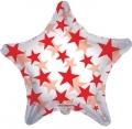 型號:34385-22 22 吋 Red Patterned Star (透明紅)