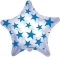 型號:34386-22 22吋 Royal Blue Patterned Star(透明藍