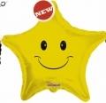 型號:17915-18 18吋 金黃色笑臉星星