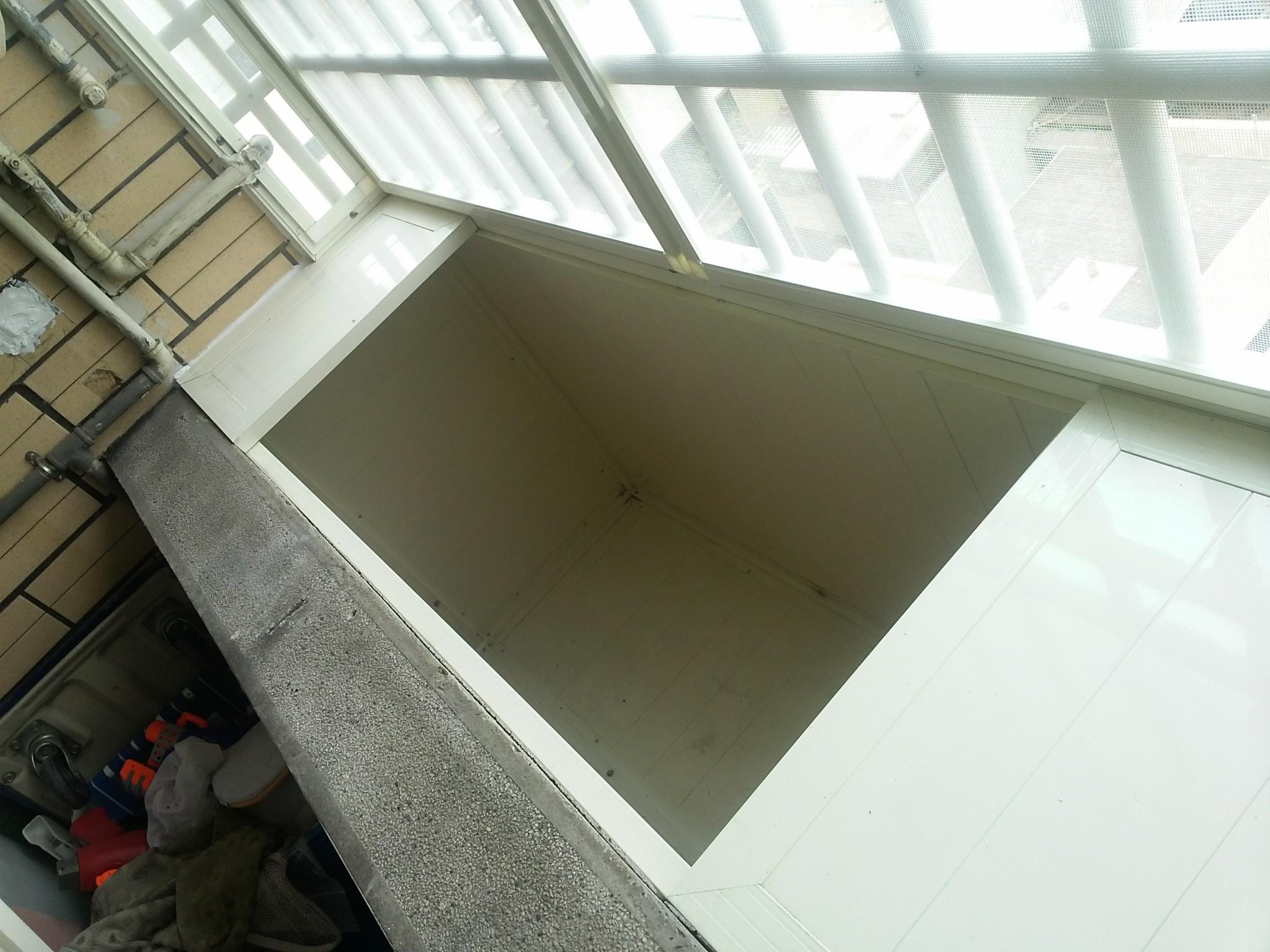 鋁製儲存空間